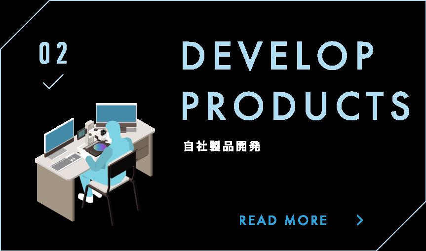 自社製品開発